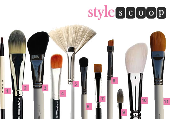As for my two foundation brushes, one is for my handbag, and one for my make