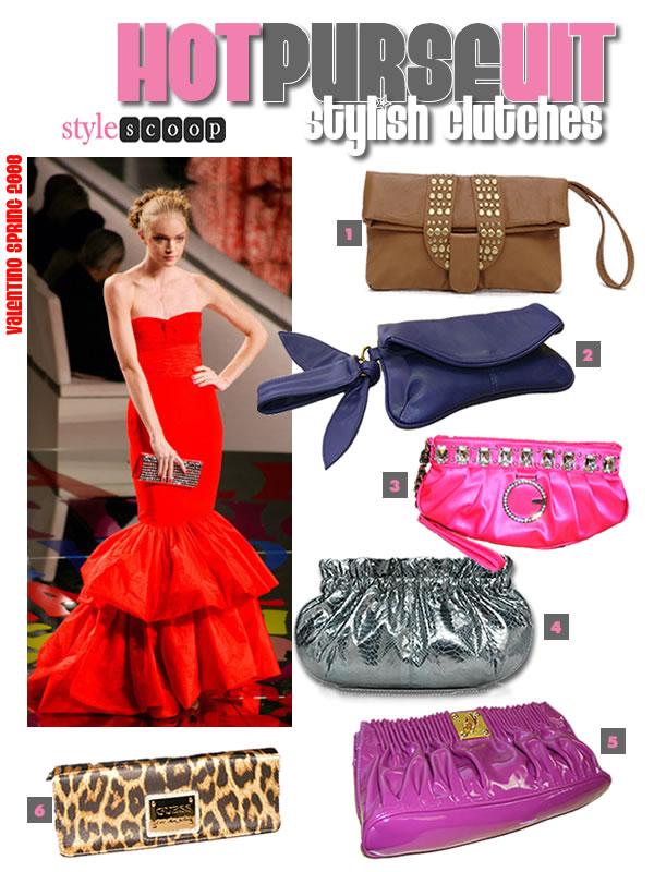 Star Fashion: Clutch bags