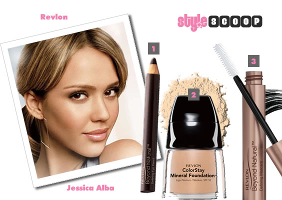 face for their campaign either – just look how Jessica Alba radiates
