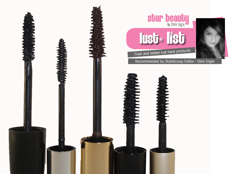 Top Five Mascara Products