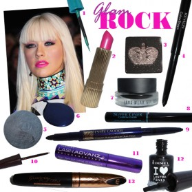 Glam Rock beauty