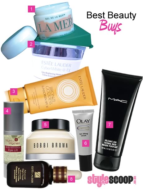 Best Beauty Buys – Moisturisers, eye creams and treatments