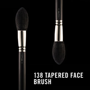 M.A.C 138 Tapered Brush review
