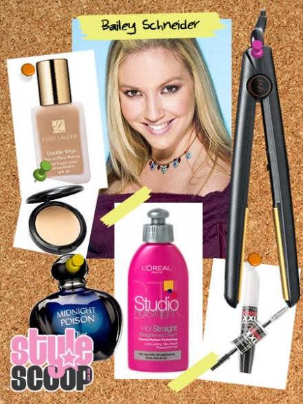 Celebrity Beauty – Bailey Schneider