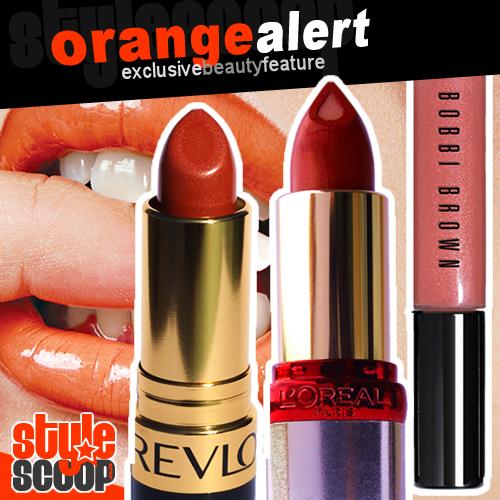 TREND REPORT: Read my ORANGE lips
