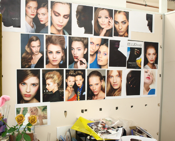 The beauty department thrives on inspiration