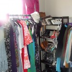 The Fearless Fashionista's Closet-Room makeover