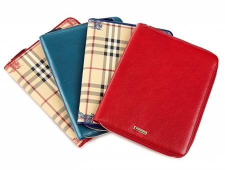 iWant! Burberry iPad covers