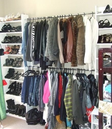 The Fearless Fashionista's Closet Room Make over Part 3 Or