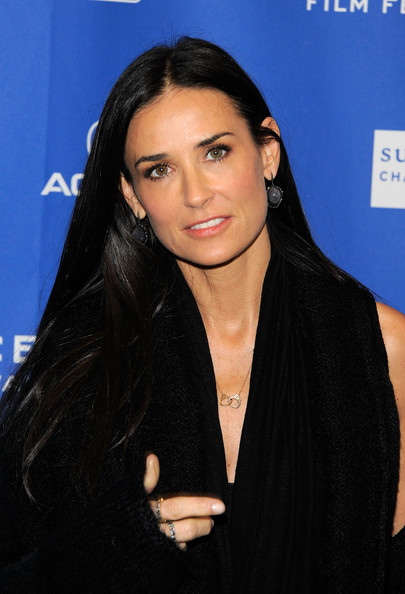 "Demi Moore wears her Vartanian necklace to the premiere of ""Another Happy Day"" during the recent 2011 Sundance Film Festival"