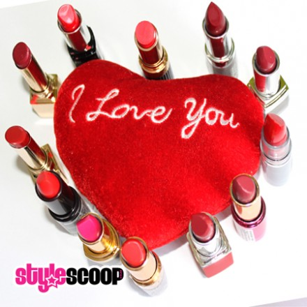 Smooch! The hottest red lips for Valentines Day