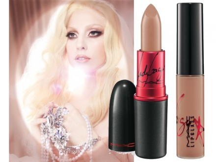 More ooh la la from Gaga and MAC Viva Glam