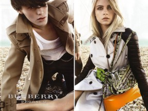 Burberry&#8217;s Spring/Summer &#8217;11 Campaign