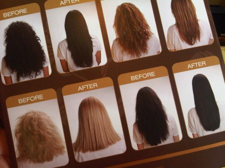 brazilian blowout before and after. Brazilian Blowout Review