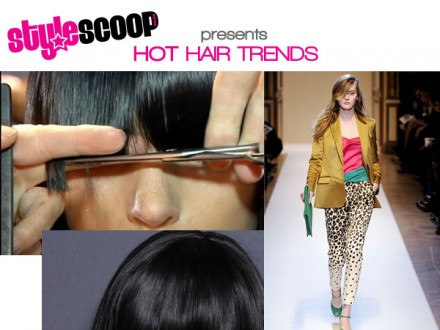 Hot Hair Trends For Winter – Statement Bangs