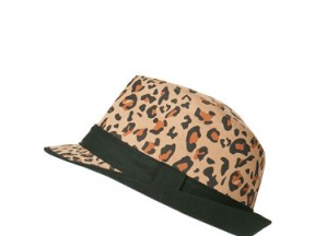 LeopartPrintTrilby