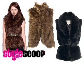 How To Wear The Trend: Faux Fur Gilet