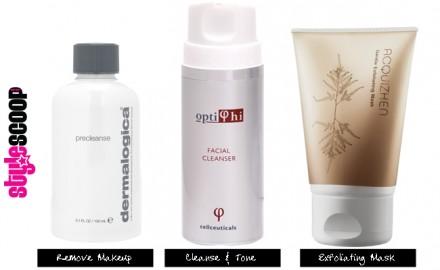 Clean Skin, As Easy As 1,2,3