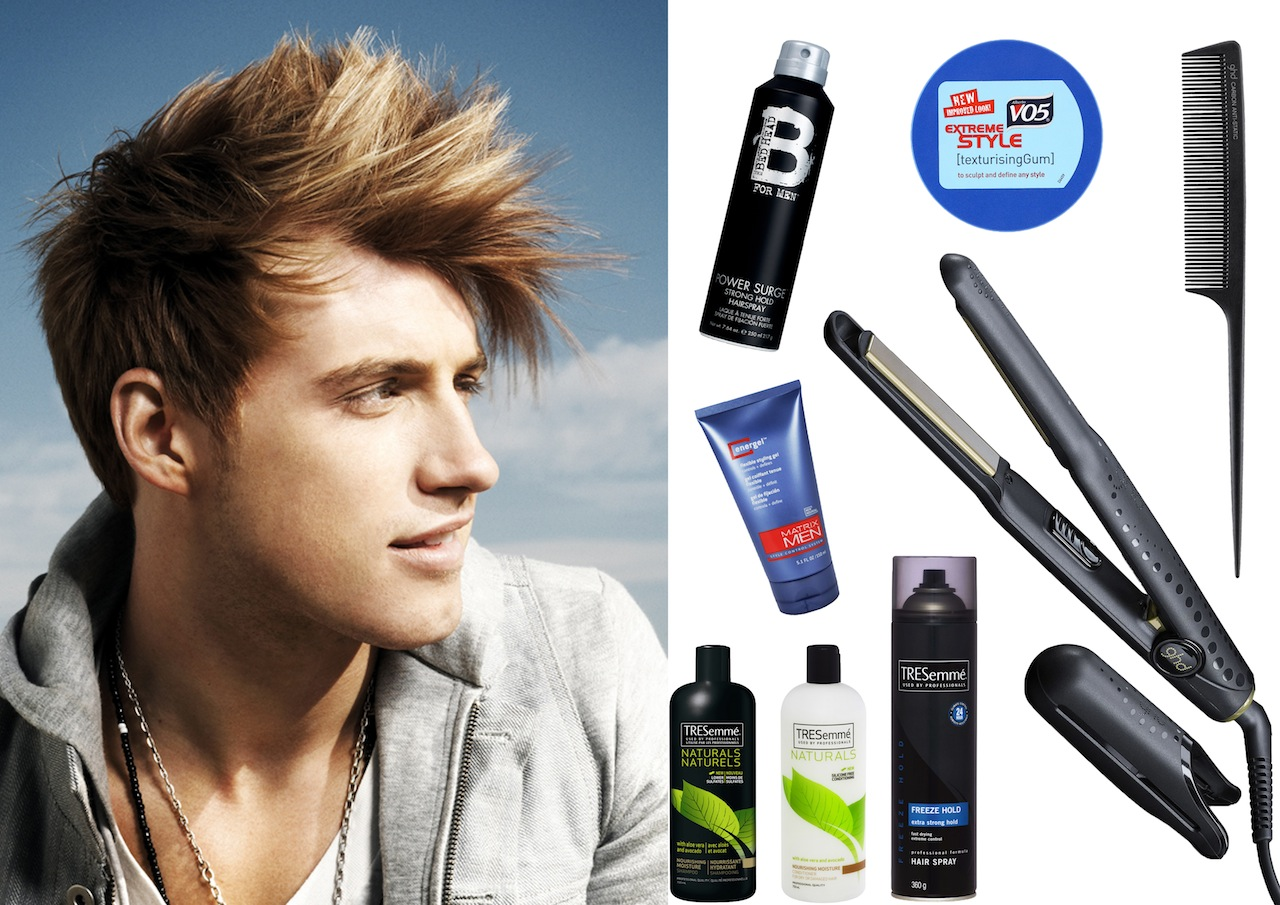 StyleScoop StanRaw ghd Men's Hair