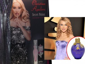 Celeb Fragrance Alert: Biebs, Taylor and Christina