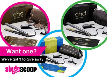 Win one of 3 ghd Stylers!