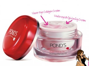 One Eye Cream with Two Purposes – Pond's Age Miracle Dual Eye Therapy UV Cream