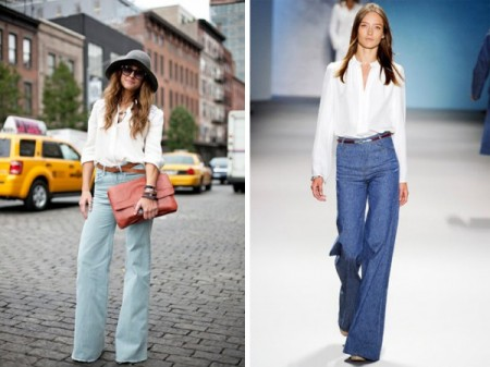 The Perfect High-Waisted Flares