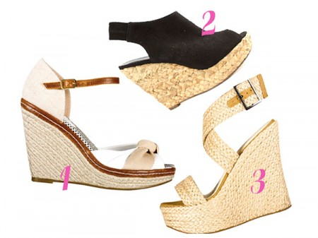 Summer Shoes Special – Woven Wedges