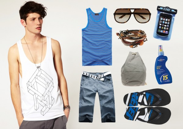 Beach Basics For The Boys Stylescoop South African Lifestyle