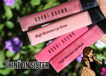 Shine on with Bobbi Brown High Shimmer Lip Gloss