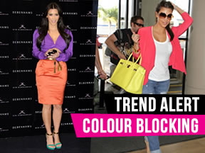 Fashion Trend Watch – Colour Blocking Kim