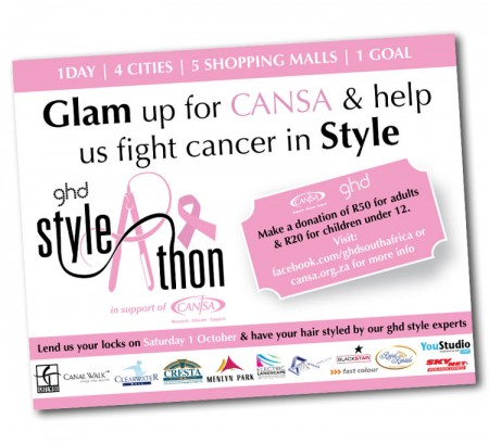 ghd Style-a-Thon – Fight cancer in style
