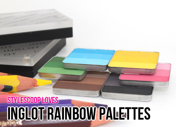 Inglot Rainbow Palette Review & Reader Giveaway