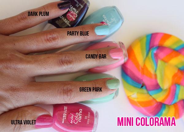Spin the colour wheel! Maybelline Mini Colorama Nail ...