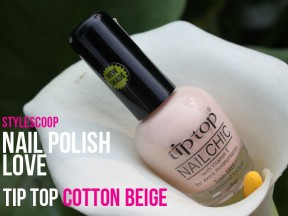 Nail Polish Love: Tip Top Cotton Beige