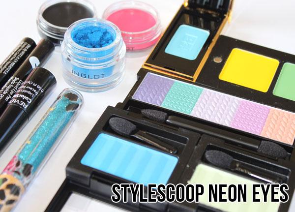 Summer Beauty Trend – Neon Eyes