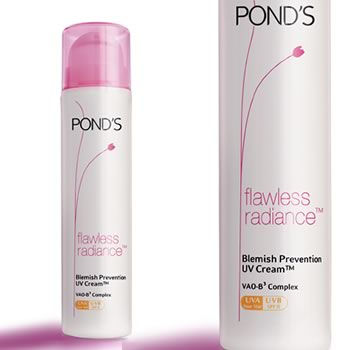 Ponds Flawless Radiance – Blemish Prevention UV Cream Review