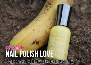 Nail Polish Love &#8211; Sally Hansen Xtreme Wear Mellow Yellow