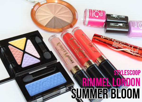 Rimmel's New London Summer Bloom Collection