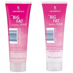Lee Stafford &#8211; Big Fat Healthy Hair Shampoo &amp; Conditioner