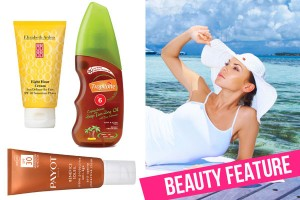 Here comes the sun! Get sun smart with these face and body sunscreens