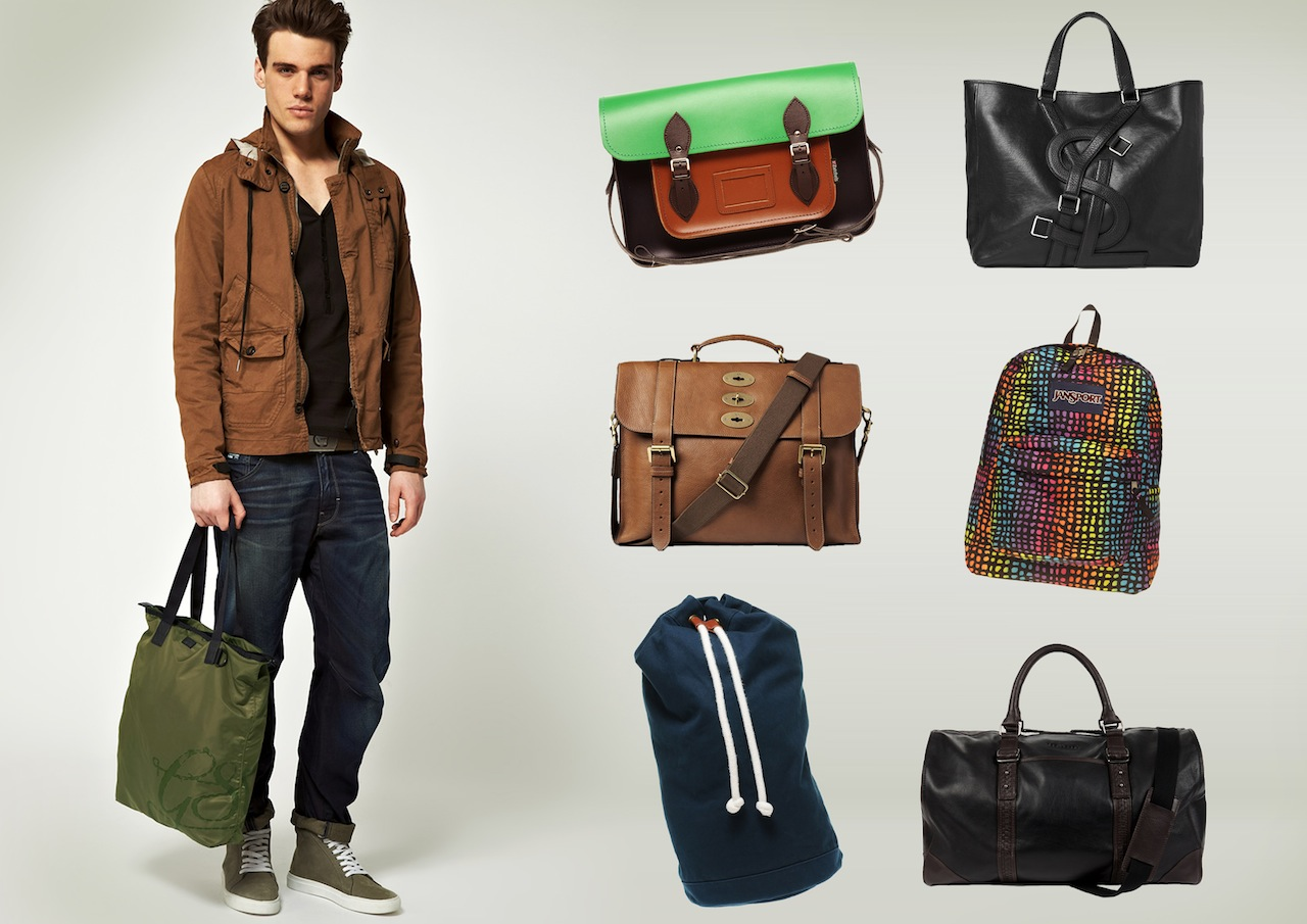Back to Basic Bags for the Guys – Style Scoop – Daily Fashion ...