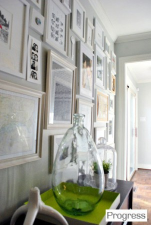 Decor Monday – Wall of Frames and Young House Love