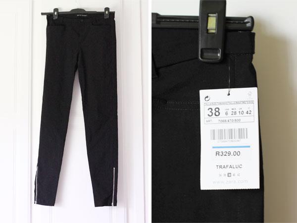 Black work pants for women