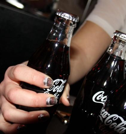 Coca Cola Nails Anyone?