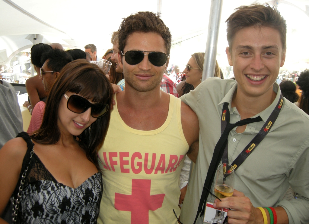 Chia Kougianos, Jeff Tsoutsos of Deranged Lifestyle and Nicholas Campbell