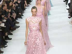 Pretty in Pastel for Elie Saab