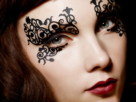 Beauty trends lashes and lace – style scoop daily fashion beauty