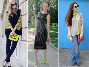 Fashion Bloggers Love Neon