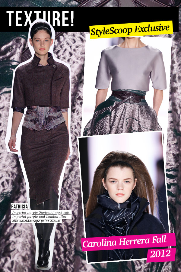 carolina-herrera-fall-2012-texture